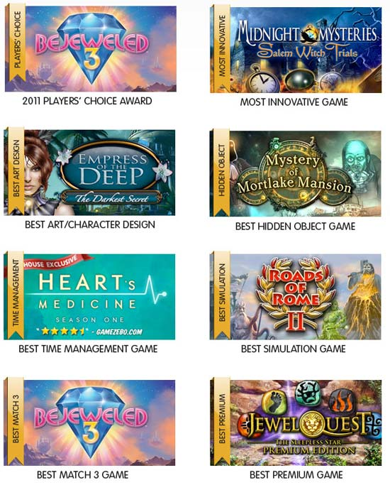 top gamehouse games