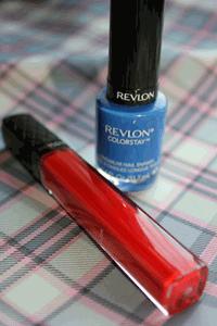 revlon nail polish and lipgloss